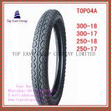 Größe 300-18, 300-17, 250-18, Nylonreifen der Qualitäts-250-17 des Motorrad-6pr