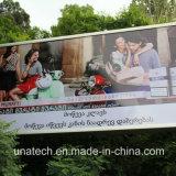 Афиша светлой коробки СИД напряжения знамени Signboard напольный рекламировать вращаясь