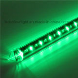 縦の軽い流星の管DMX 3D LEDの管