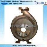 Enveloppe horizontale chimique de pompe centrifuge d'aspiration simple d'étape simple