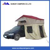 Het Afbaarden van het Dak van de auto met de Duurzame het Kamperen van de Auto Hoogste Tent van het Dak