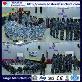 중국 공급자 움직일 수 있는 강철 구조물 작업장 건축