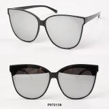 Óculos de sol de tamanho grande das mulheres novas da forma
