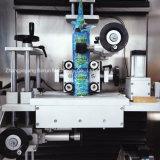 Máquina de etiquetas dobro do Shrink das cabeças para frascos plásticos