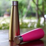 Doppeltes ummauert Edelstahl-Wasser-Flaschen-Vakuumflaschen-Sport-Flaschen-Metallflasche