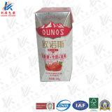 Prisma carton aseptique pour le lait