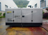 Ce/Soncap/CIQの承認のWeifangエンジン4100zdを搭載する42.5kVA無声ディーゼル発電機