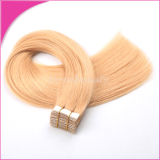 Weft Human Hair Extensionsの工場Wholesale Adhesive Tape