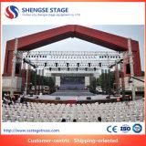 Structure en aluminium de concert pour l'écran LED système recourbé
