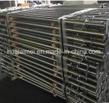 Q235 Steiger de van uitstekende kwaliteit van het Staal met 48mm Gegalvaniseerde BuitenBuis