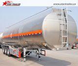 нержавеющей стали 3axles топливозаправщика трейлер Semi для сбывания