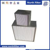 H13-U17 de hoge Filter van de Dakspaan van de Vochtigheid voor het Systeem van de Filtratie van de Lucht