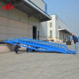Recipiente móvel ajustável rampa de carregamento de 8 toneladas