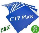 Image claire de l'impression plaque CTP thermique