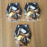 Custom Branded Die-Cut em forma de bloco de notas impresso Notepad promocional