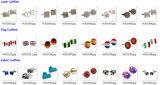 Cufflinks van de Overhemden van de Ontwerper van de Manchetknopen van de luxe Eenvormige (HLK30723)