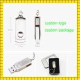 Unidade de pen drive USB giratória personalizada 4GB 16GB 1GB USB Flash Drive (GC-001)