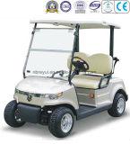 Carro elétrico de duas extremidades do golfe da direção 2-Seater do pinhão de Rack&