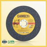 Disco tagliato per il taglio di metalli di lunga vita del cammello