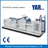 Máquina que lamina de la película completamente automática del precio de fábrica Sw-820 para la venta