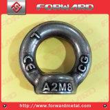 Ss304ステンレス鋼の低下によって造られる持ち上がる目のナットの持ち上がる矢DIN582の目のナット