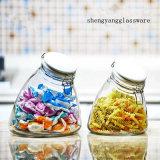 Cristalería decorativa de la muestra libre con la tapa hermética