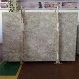 磨かれた高品質のオマーンローズの白の大理石
