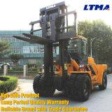 Forklift resistente Forklift do diesel de 20 toneladas