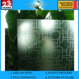 l'acido decorativo architettonico Am-26 di 3-19mm ha inciso il vetro glassato di arte