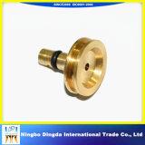 Peça de bronze de giro do CNC Machining/CNC Lathing/CNC