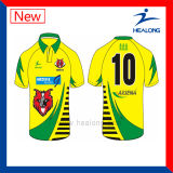 Healong personalizou a camisola do rugby do Sublimation do Sportswear 3D do projeto