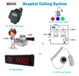 안전한 납품 PC 완벽한 장비 병원 무선 간호원 외침 시스템
