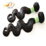 熱い販売7Aの毛の拡張マレーシアの毛のよこ糸