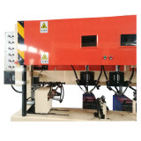 足場軒桁の自動溶接機械