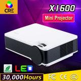 Mini LED proiettore dell'affissione a cristalli liquidi di multimedia TV HDMI