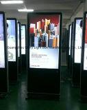"""Affissione a cristalli liquidi completa dell'interno del chiosco del basamento del pavimento di 42 """" HD che fa pubblicità al giocatore"""