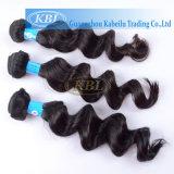 Jungfrau Remy brasilianisches Haar, preiswerte Menschenhaar-Webart (KBL-BH-BW)