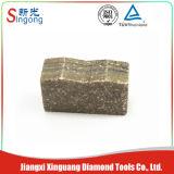 Le segment de lames de scie granite de granit de marbre / marbre bon marché de Chine