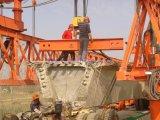 콘크리트에 의하여 미리 틀에 넣어 만들어지는 광속 발사대 가교