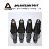 Pièces de rechange de machine charbonnière avec l'extrémité modifiée de carbure de tungstène de corps de coupeur