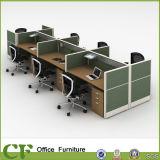 중국 제조자 T8 시리즈 가구 5 사람 사무실 워크 스테이션 칸막이실