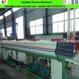 Cadena de producción plástica compuesta del tubo de la fuente caliente de la agua fría de los PP PPR