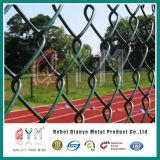 El PVC cubrió precio de la cerca de la conexión de cadena/el cercado galvanizado de la conexión de cadena del diamante