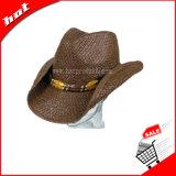 Chapéu de cowboy de palha de papel de moda 2017