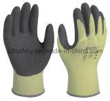 Контактированная жарой перчатка работы с покрытием нитрила Sandy (NK3033)