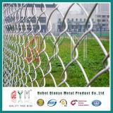 Гальванизированная ячеистая сеть звена цепи ограждая декоративную загородку звена цепи