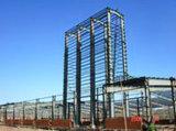 Marco de la estructura de acero, edificio prefabricado de acero (SSW-466)