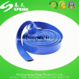 Boyau de pompe à eau de débit de PVC Layflat