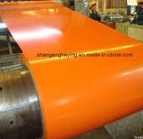 Hoogste Side17-25micron verfte de Gegalvaniseerde Directe Molen van de Rol van het Staal Steel/PPGI vooraf