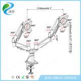 Jn-Ds324FC justierbare Doppelmonitor-Montierung
